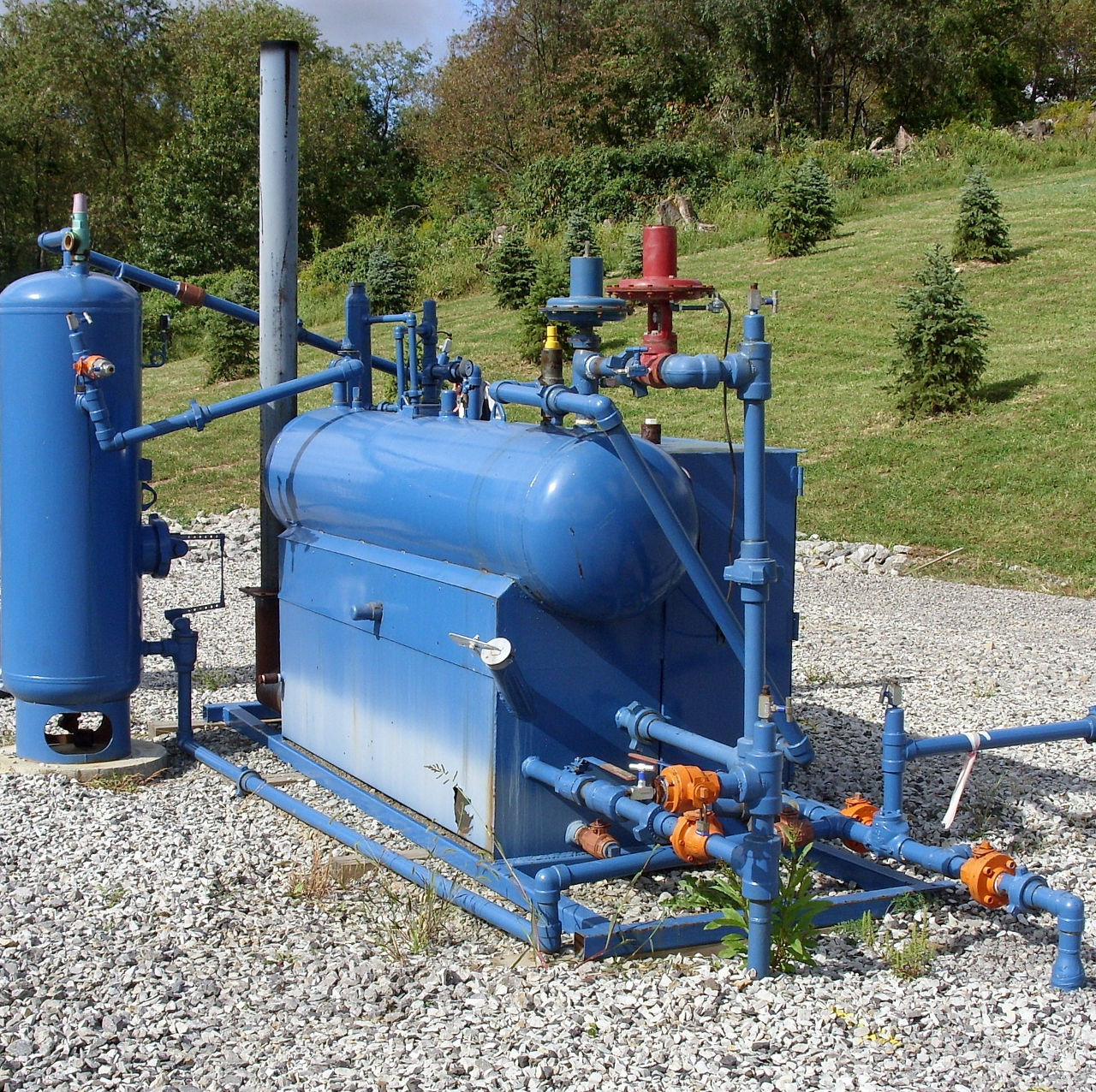 gas separation and metering equipment