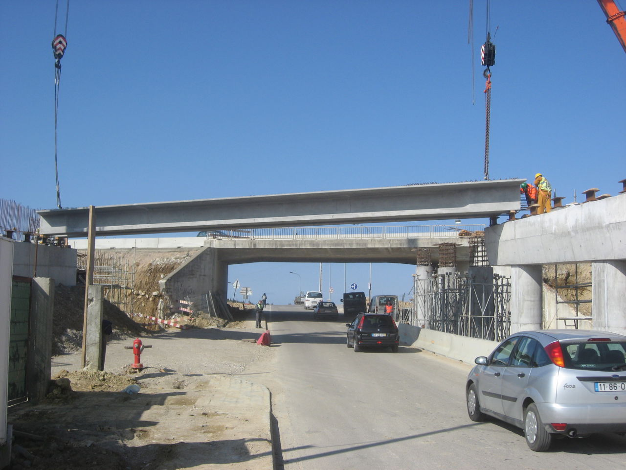 Pre-Cast concrete Bridge_Construction