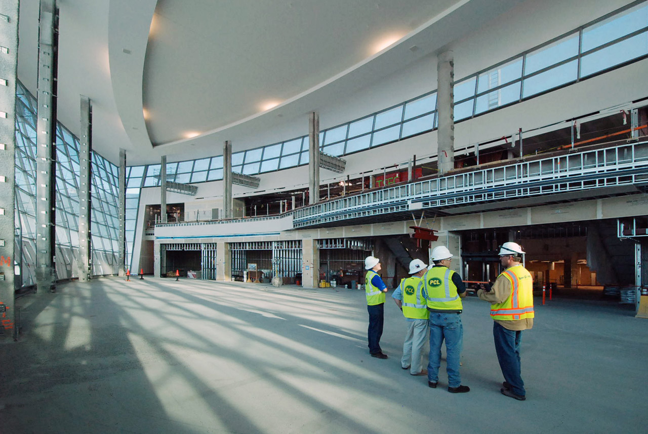San Diego International Airport's Terminal 2 Construction | Image courtesy of HNTB Architecture