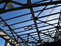 Roof Structural Steel - Pinnacle ©Mortenson Construction