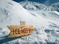Hotel of Ice in Transylvanian Alps | Image courtesy of Gabriel Petrescu