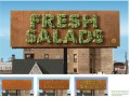 Fresh Salads Billboard - Image Courtesy Of Leo Burnett Chicago