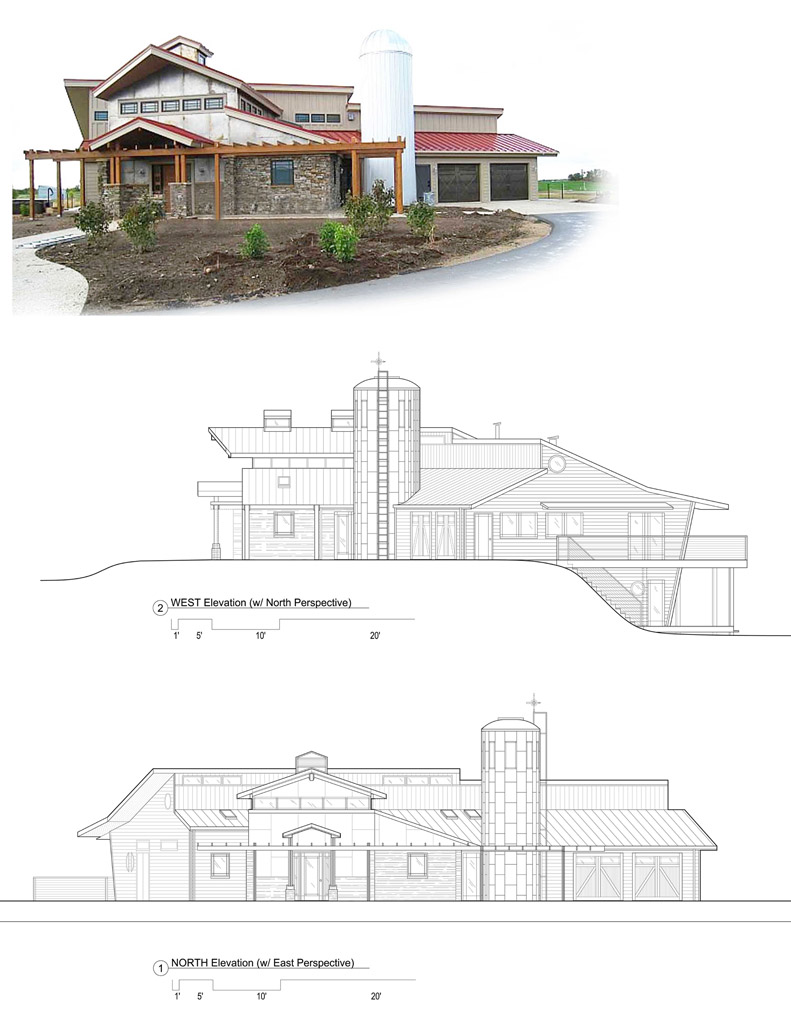 ^ Modern Farmhouse Plans - Buildipedia