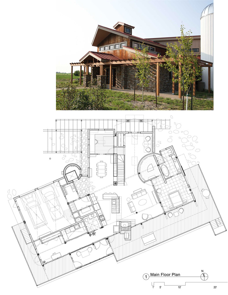 Modern farmhouse plans buildipedia for Modern plan