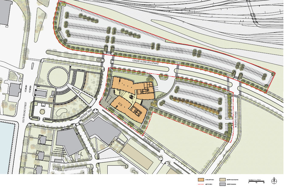 GSK's HQ Site Plan