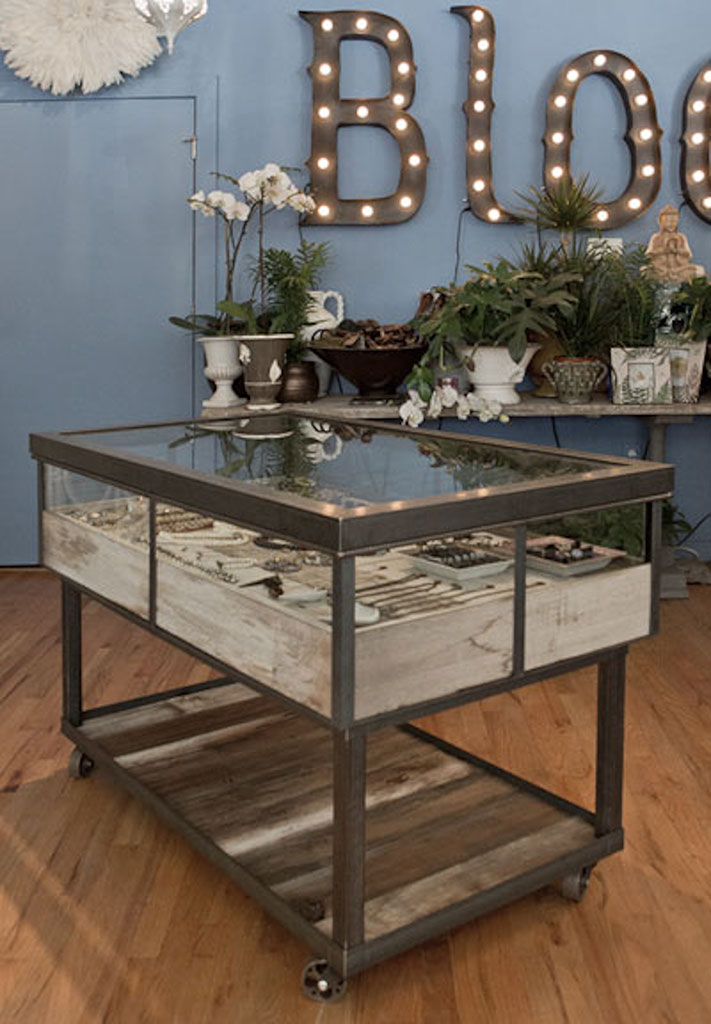 Custom By Rushton Display Case at Bloom, Cherry Creek