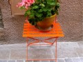 DIY Flower Pot Chair By Mediterranean Landscape