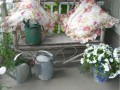 DIY French Metal Pots Traditional Porch By Caledon Home Staging HOPE DESIGNS