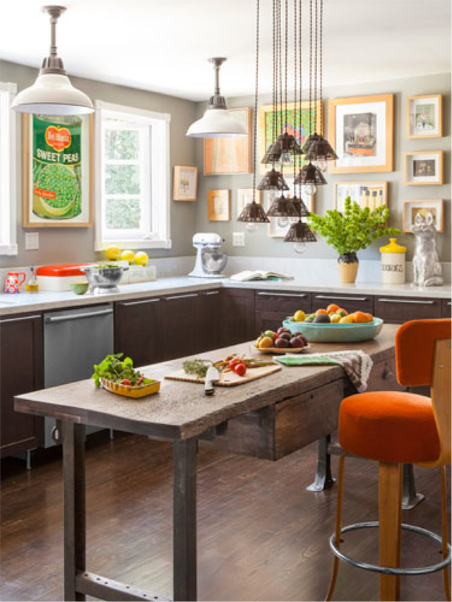 Kitchen Room Interior Design: Decorating A Rental Kitchen
