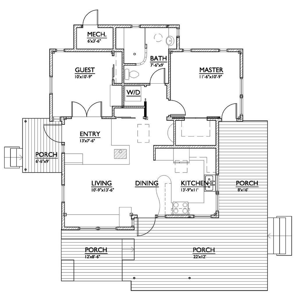 Build your own version of 2013 39 s small home of the year for Your home plans