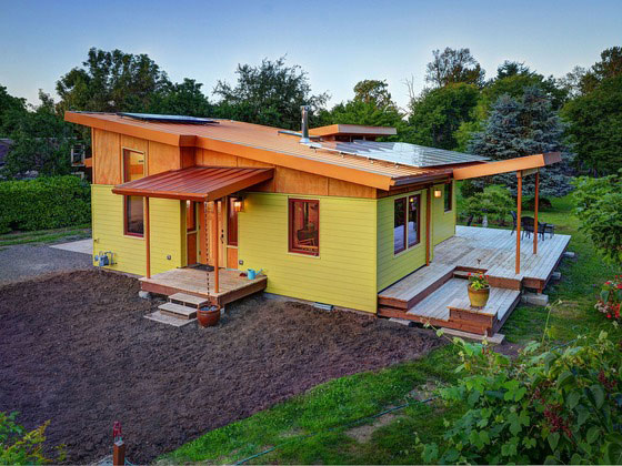 Build your own version of 2013 39 s small home of the year for Build your own modern home