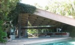 Jackie Treehorne Pool Known In Real Life As The Pool At The Sheats Goldstein House By Modernist Architect John Lautner In Beverly Hills California - Photo By Arch James