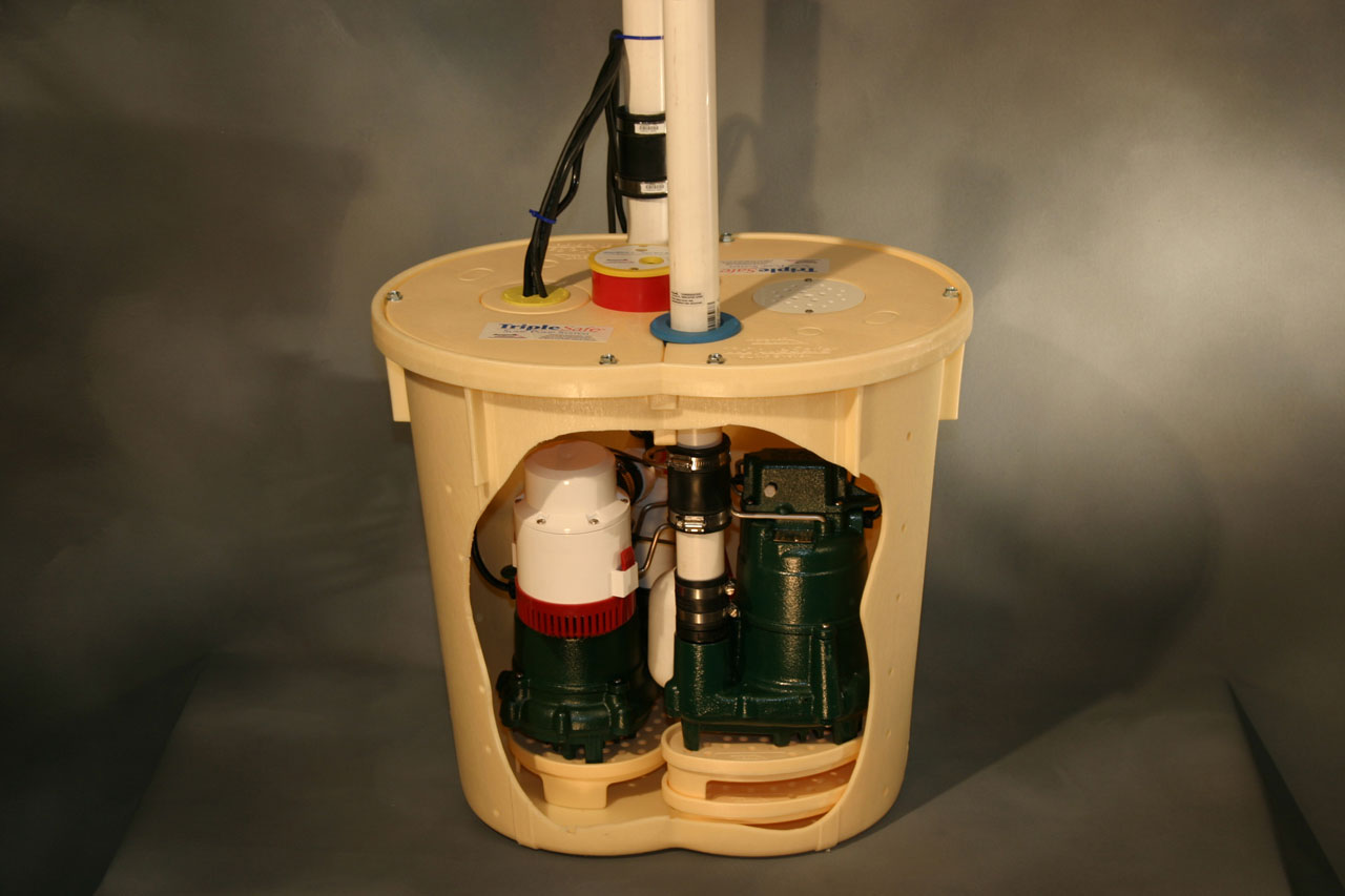 Storm Readiness and Repair: Triple Safe Sump Pump