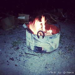 The Ultimate Country Fire Pit