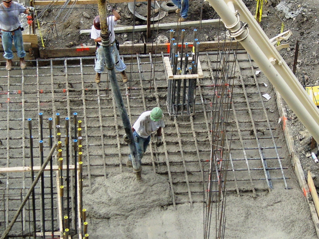 Cast In Place Concrete Slabs : Specialty placed concrete buildipedia