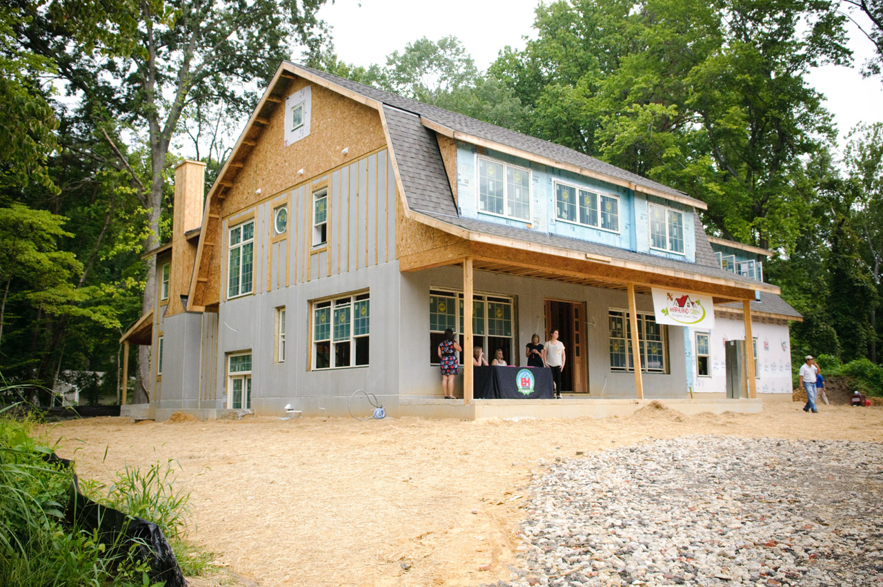 Maryland green designer show home features superior walls for Superior foundation walls