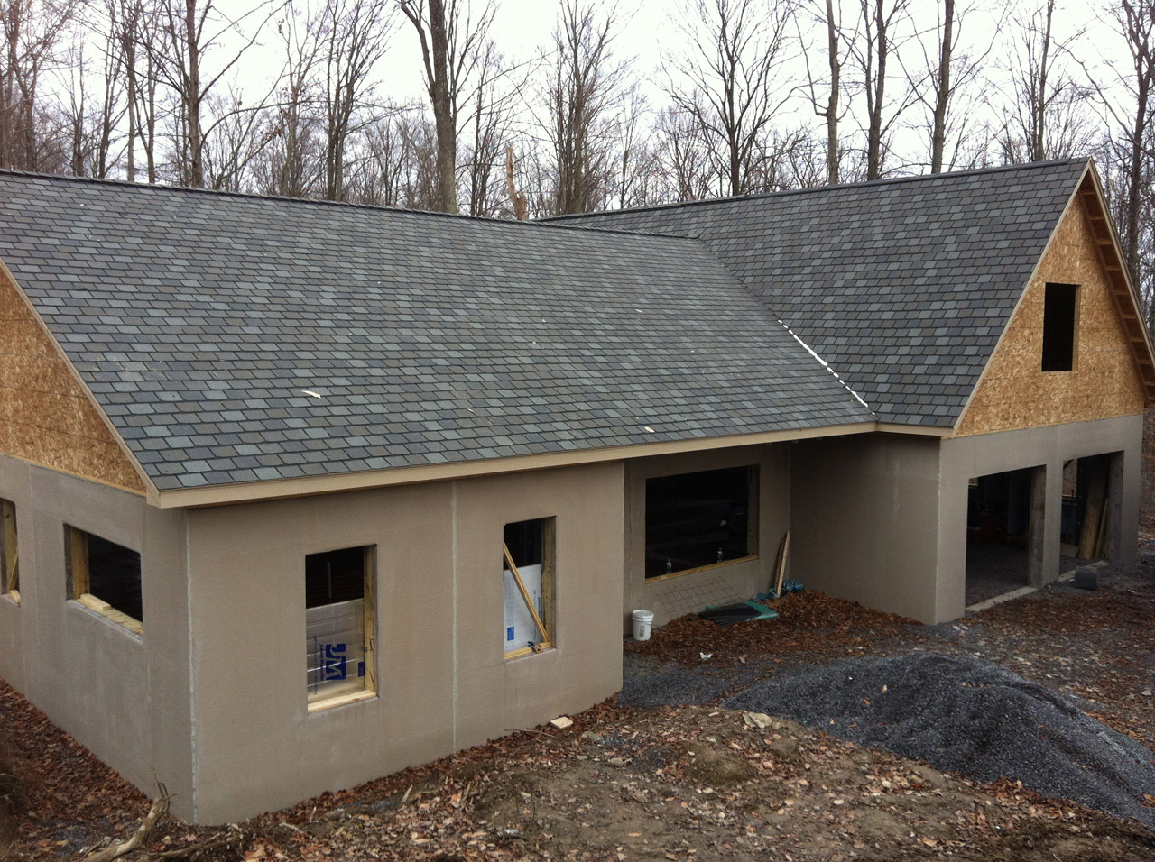 Geocottages rely on above grade superior walls products - Precast concrete houses ...