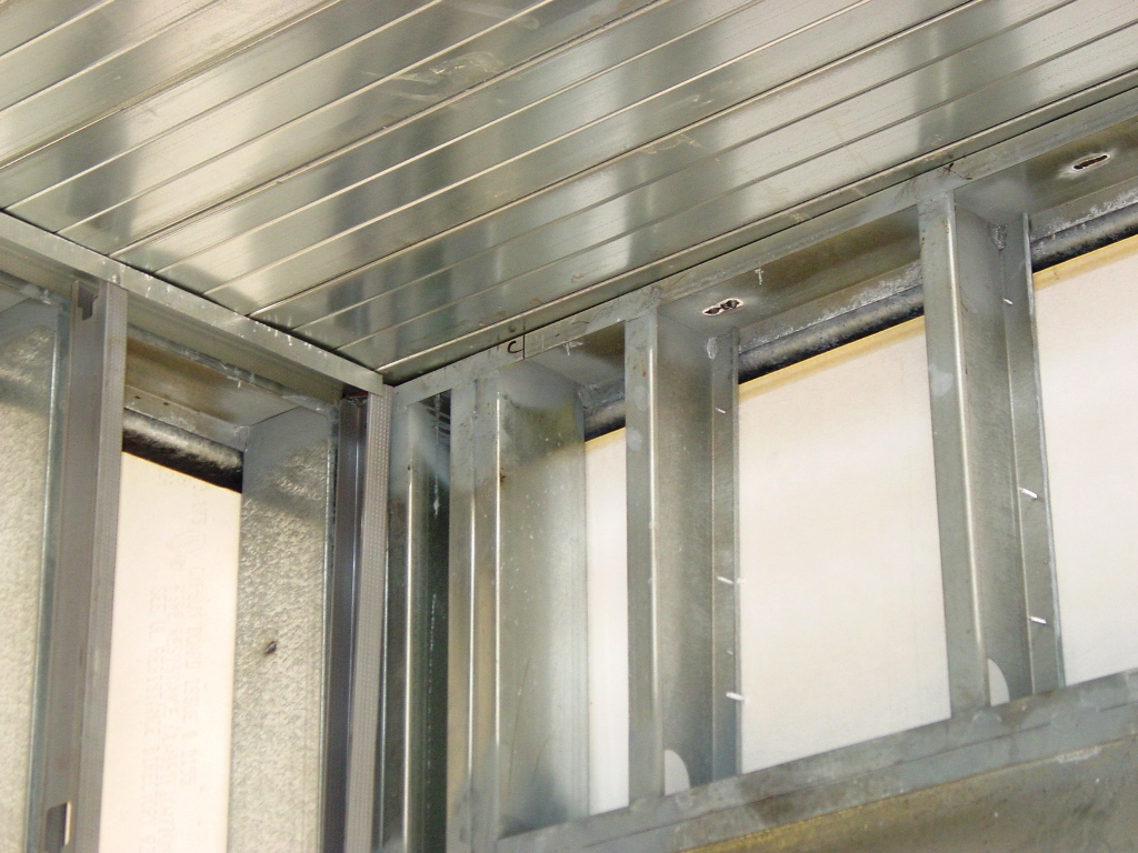 Metal framing studs Header Cold Formed Metal Framing Mans Lumber Structural Metal Stud Framing Buildipedia