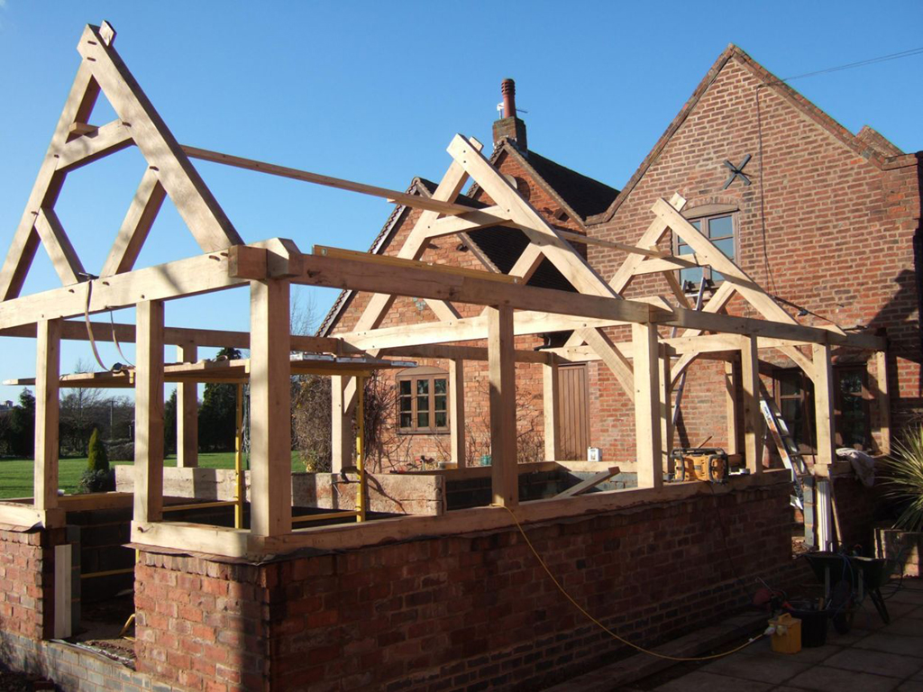 Heavy timber frame construction frame design reviews for Timber frame house construction