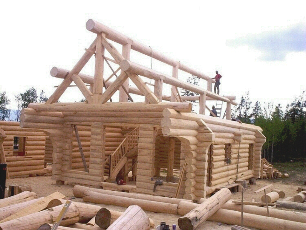 Diy log home construction diy do it your self for Cost to build a house in iowa
