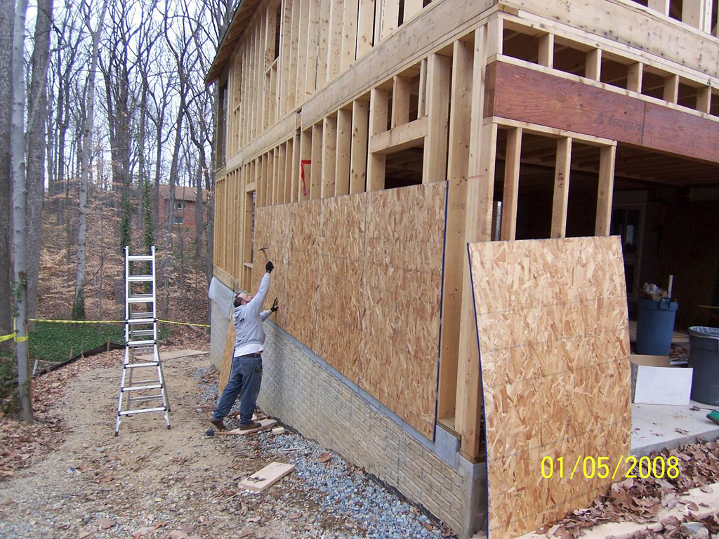Exterior gypsum sheathing