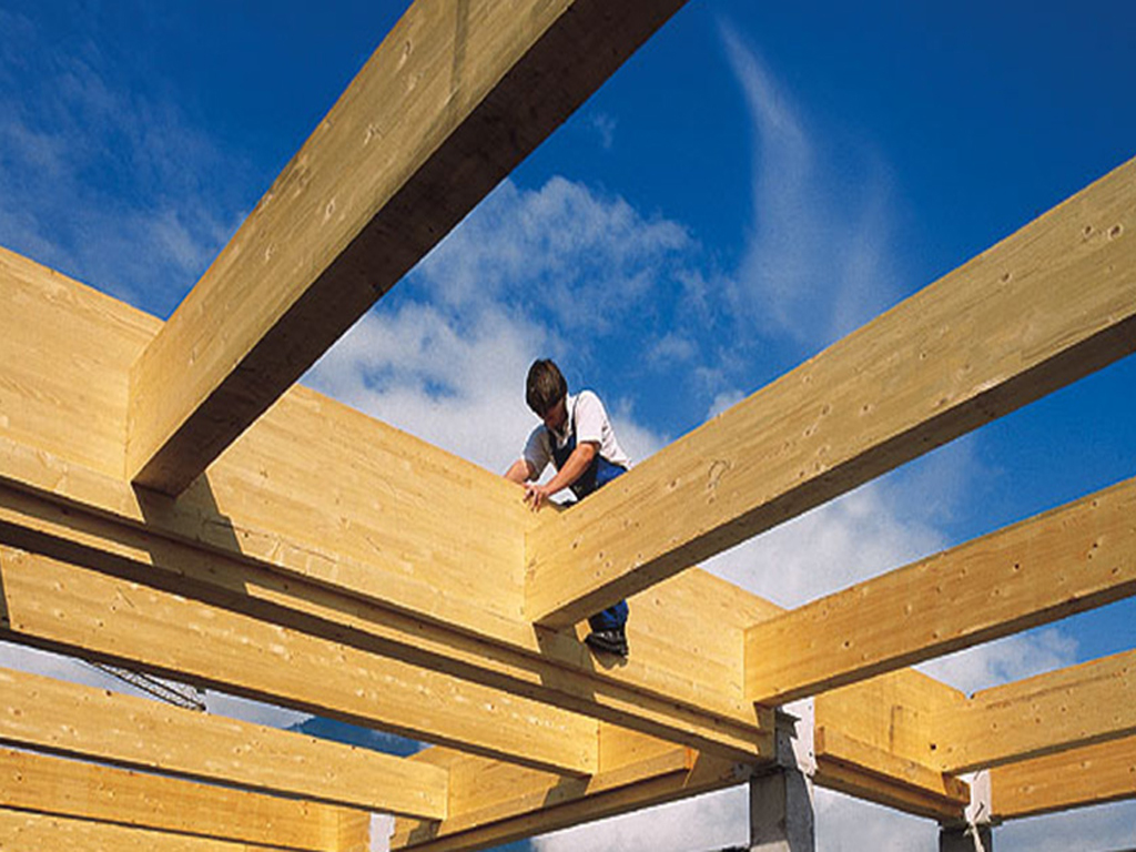 Wood Beam Construction ~ Glue laminated construction buildipedia