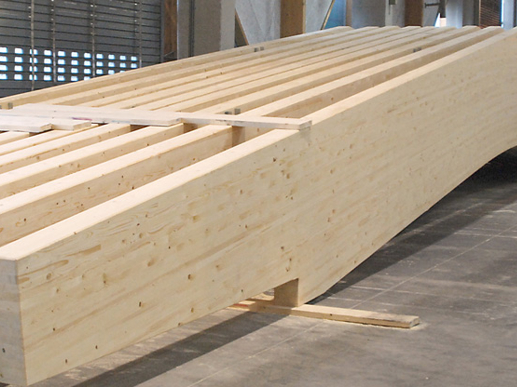 Glue laminated construction buildipedia for Laminated wood