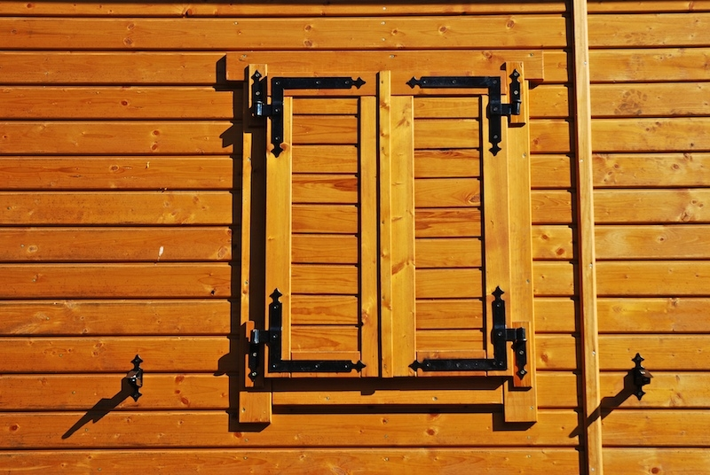 Custom Wooden Exterior Window Shutters For Real Wood