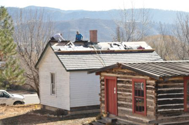 Historic Peterson House Gets Davinci Polymer Roof