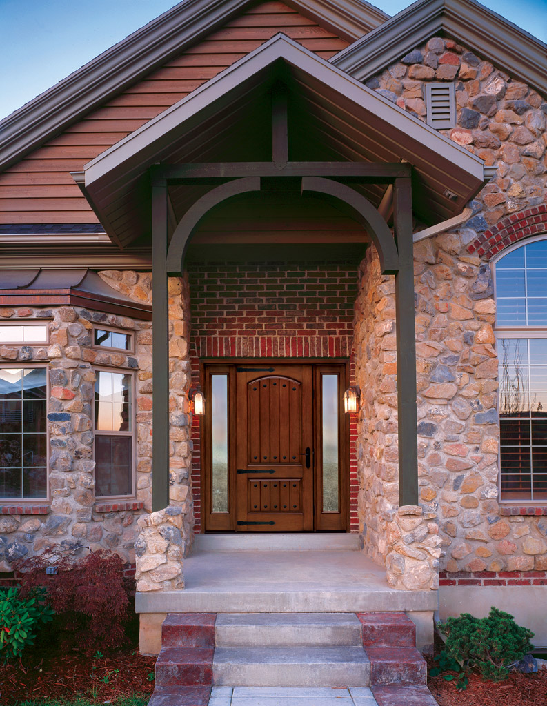 Therma tru ranks highest in 2013 brand use study buildipedia for Therma tru double entry doors