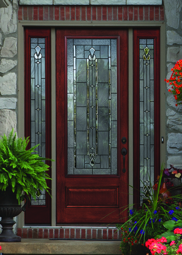 Therma tru introduces new doors and glass options for 2013 for Therma tru double entry doors