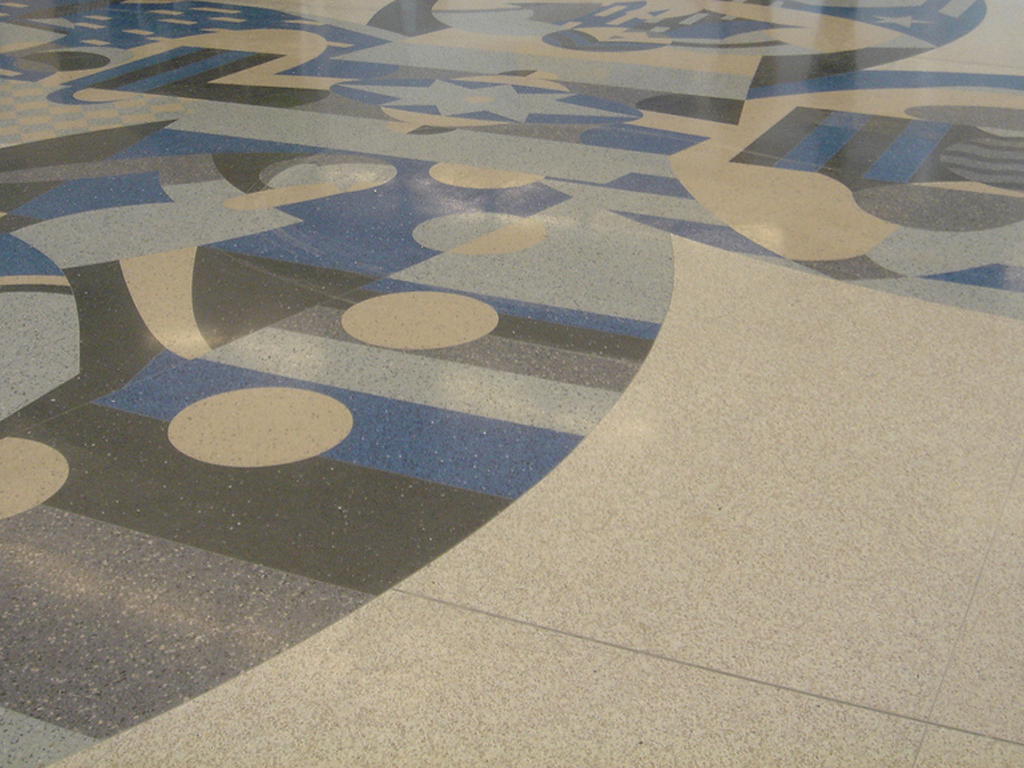 Terrazzo flooring buildipedia for Which floor or what floor