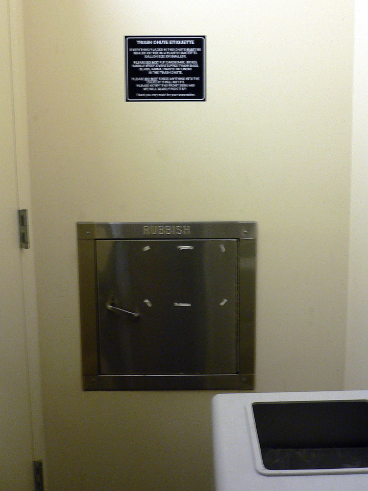 Garbage Chute Room : Trash chutes buildipedia