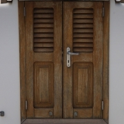08 10 00 doors and frames buildipedia for Wood stile and rail doors