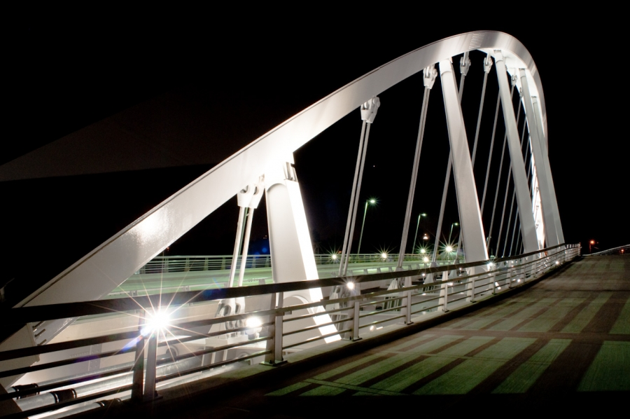 Main Street Bridge Adds Aesthetic Appeal to Columbus Skyline