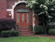 Fiber-Classic® Mahogany Collection™ 3-Panel Style Door