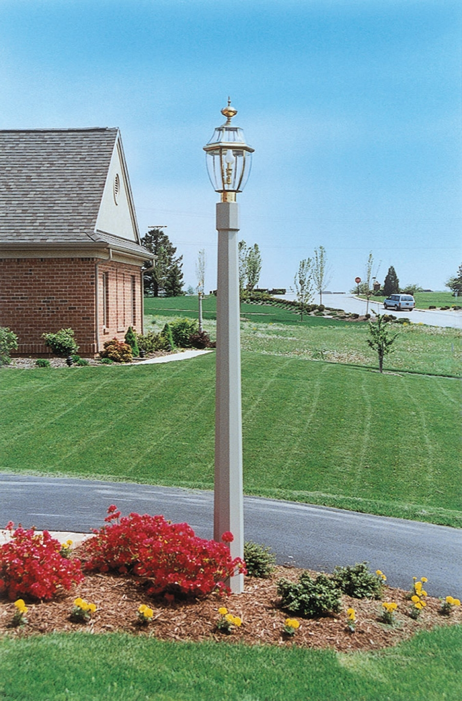 Light Up the Night with Decorative Fypon Lamp Posts