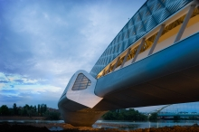 Zaha Hadid's Bridge Pavilion in Zaragoza