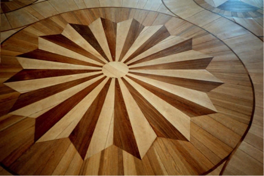 Inspiring flooring design for your new home buildipedia for Hardwood floor designs