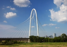 Calatrava's Dallas: The Margaret Hunt Hill Bridge