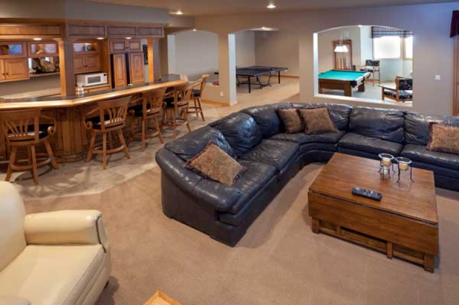 make your basement feel like it 39 s above grade with these helpful tips