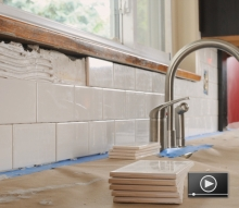 How to Install a Ceramic Tile Backsplash