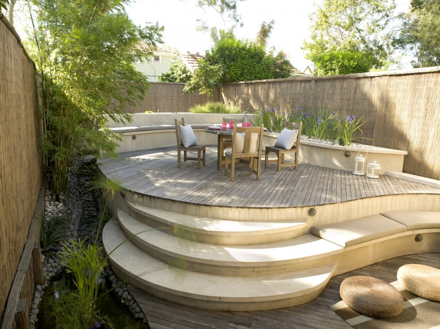 Jamie durie 39 s outdoor room design buildipedia for Jamie durie garden designs