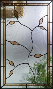 Avonlea glass in Therma-Tru entryway door.