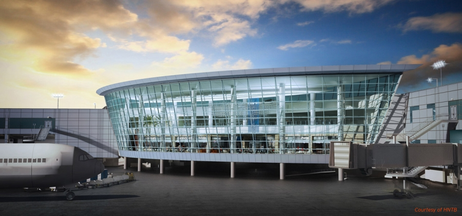 Expansion at San Diego International Airport's Terminal 2