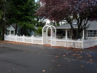Vinyl and Wood Fences Add Character and Charm to Your Front Yard