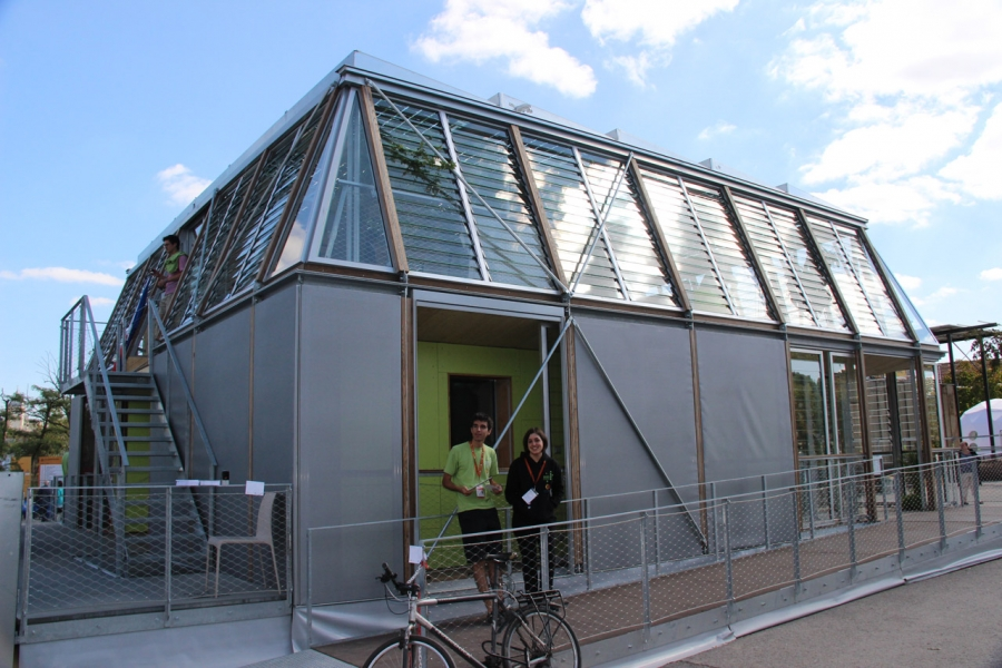Team Rhône-Alpes Wins Solar Decathlon 2012 with Canopea