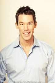 Designer David Bromstad of HGTV's Design Star, Color Splash and The White Room Challenge television shows