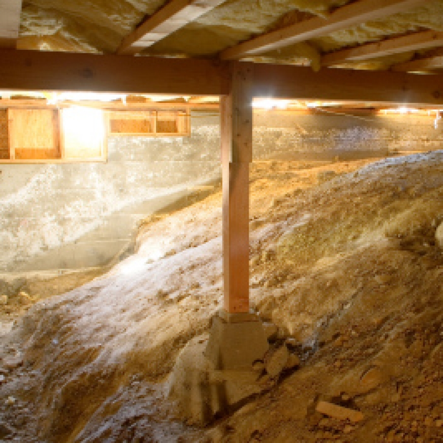 How To Keep A Basement Warm: Crawl Space Insulation
