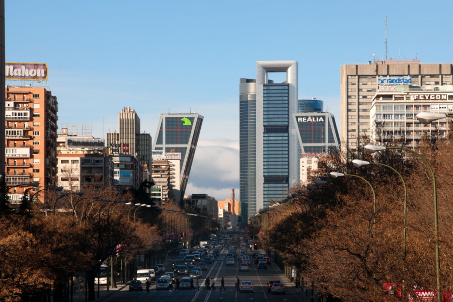 Madrid's Cuatro Torres (Four Towers)